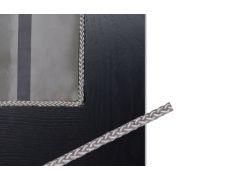 Верёвка для крепления витражей, d.5мм, цвет серебристый, в бухтах