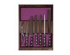 Ёмкость в базу 450, с набором ножей (7 предметов), венге