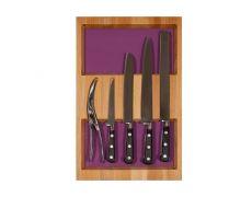 Ёмкость-расширитель 300 с набором ножей (5 предметов), бук