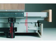 Ящик под духовой шкаф TopVolume2, H.170 под направляющие Quadro