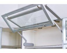 Подъёмный механизм Huwilift Fold для складывающихся вверх дверок (6.6-8.7кг), правый (в комплекте с