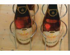 Набор держателей для 4 бутылок, хром глянец