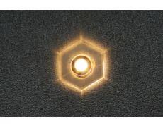 Светильник LED Point 6, 0.14W, 3200K, отделка транспарент