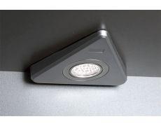 Светильник LED Triangolo, 1.65W, 5000K, отделка под алюминий