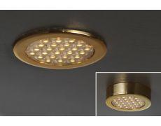 Светильник LED Round Ring, 1.5W, 6000K, отделка золото глянец