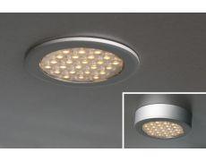 Светильник LED Round Ring, 1.5W, 3000K, отделка алюминий