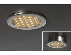 Светильник LED Round Ring, 1.5W, 6000K, отделка хром глянец