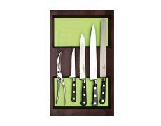Ёмкость-расширитель 300 с набором ножей (5 предметов), венге