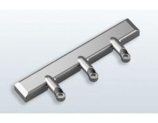 Комплект креплений к алюминиевой рамке 20x20мм для FREEflap mini и FREEflap forte, отделка никель