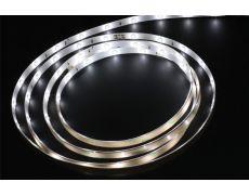 Лента светодиодная LED Flexible, 2000 мм, 5W, 5000K, отделка белая