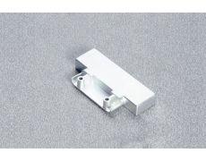 Адаптер для крепления ответной планки к фасаду из узкого алюминиевого профиля