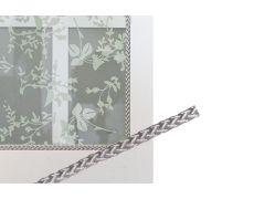 Верёвка для крепления витражей, d.8мм, цвет серебристый, в бухтах