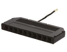 Блок распред. L806-PC, 12V/24V, 3А, для конн. L813/815 на 10 парал. подключ., с каб. 200 мм для источника пит. постоян. напряжения