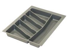 Ёмкость в базу 450 для столовых приборов, цвет орион серый