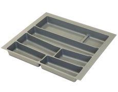 Ёмкость в базу 600 для столовых приборов, цвет орион серый