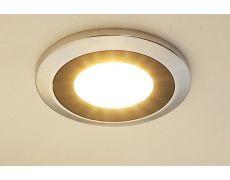 Светильник LED Abisso, 3W/350мА, 6500K, отделка хром глянец/черный