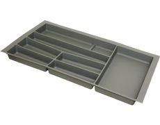 Ёмкость в базу 900 для столовых приборов, цвет орион серый