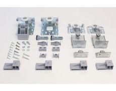 Комплект фурнитуры Domino-S для 2-х дверей (16-21 мм)