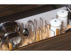 Набор держателей для 4 крышек, отделка хром глянец
