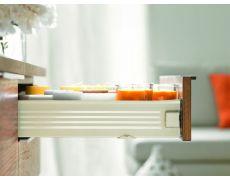 Ящик METABOX (высота М 86, глубина 500 мм) с доводчиком, кремовый
