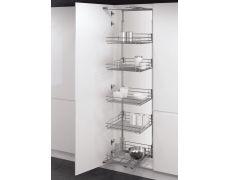 Комплекты кухонных пеналов VSA-2 Classic, высота 950-1200 мм, ширина 450 мм, цвет серебро