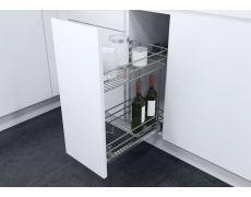 Выдвижная система для бутылок S-Gold на направляющих TANDEM, ширина 300мм